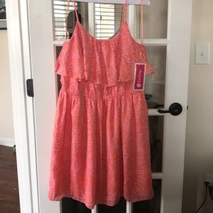 Lilly Pulitzer for Target Jungle Orange dress